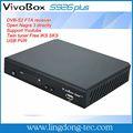 receptor de satélite de alta definición descarga de software vivobox S926 plus para Suramérica
