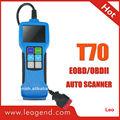 los coches de diagnóstico de la máquina de exploración dispositivo t70 multilingüe de apoyo