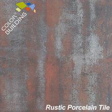 azulejo de cerámica metálico 600x600mm