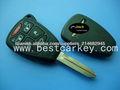 Alta calidad 315 Mhz botones 5 + 1 llave alejada para chrysler llave llave remota chrysler ID46 Chip