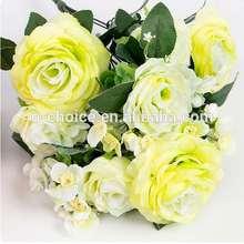 Decoración de la boda de la flor artificial, Kawasaki Rose Flor