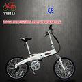 mini- adultos de buena calidad plegables bicicletas con motor Bafang 250w