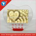 caliente venta personalizada productos de cristal hermoso por favor/regalos/regalos de boda
