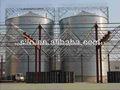 Silo de acero utilizado para el grano, aserrín silo de almacenamiento, silo de alimentación