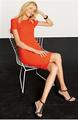 hot vendas de laranja e manga curta crepe padrões de vestidos de verão e sundress