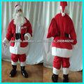 Santa Claus traje de la mascota