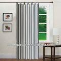 hermosa diseñado la última raya ventana cortina de textiles para el hogar cortinas