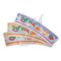 offset diseño de customzied pinted taza de papel para ventilador de hielo crema