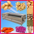 Comercial Elétrica rolo da escova máquina descascador de batatas