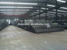 Bs1387 pre acero galvanizado tubo/especificación de la tubería