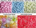 la fábrica de yiwu precio barato de vidrio de semillas del grano