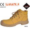 nubuck stecho de seguridad de cuero zapatos de trabajo