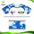 nuevo diseño de la manera del deporte camiseta barata impresos hombres de la camiseta