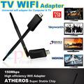 nuevo producto 150 mbps de red inalámbrica tarjeta de adaptador usb inalámbrico para pc tv y teléfono