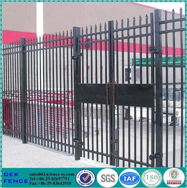 modelos de portões e cercas de ferro (SGS fábrica certificada)