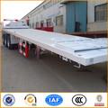 20ft y los 40ft recipiente plano transportar mercancías apartamento semi camiones para la 40ft 2*20ft 1*20ft