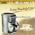 イタリアのポンプ2-cupのエスプレッソのコーヒーメーカー