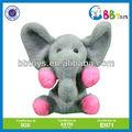 2013 lindo elefante de pelúcia em forma de boneca