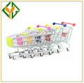 Venta caliente mini carro/carrito de compras para el supermercado