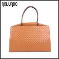 venta al por mayor más populares de lujo de cuero bolsas de oficina para las mujeres