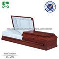 sencillos ataúdes de madera para enchapado con precio bajo