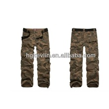 prix usine de mode de travail pantalons pour hommes pantalons cargo militaire