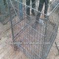 de alambre soldado panel de malla de la jaula del pollo