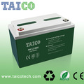 Las baterías AGM de ciclo profundo batería solar sin mantenimiento 12V 100AH