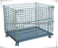 1.5t Contenedor de malla de alambre/jaula almacé/jaula de almacenamiento