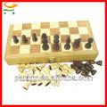 hecho a mano de entretenimiento de ajedrez de madera juego de mesa personalizados