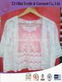 algodón de moda del bordado vestido de malla