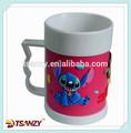 Pvc taza koala, personalizado 3d de dibujos animados taza de pvc para la promoción
