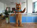 Scooby doo juguetes/scooby traje de la mascota