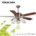 53 polegadas home decorativos ventilador elétrico padrão