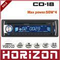 Car Audio Car DVD 18 Reproductor de música (DVD), USB y tarjeta de la ayuda SDHC, lector de cd del coche
