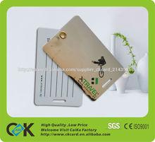pvc con tarjeta RFID