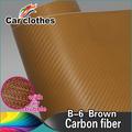 Venta caliente cuerpo abrigo pegatina coche de fibra de carbono película