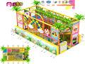 Mini parque infantil Caja de bolas con tobogá