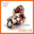Anillo de diamantes en oro rosa de|Anillo de diamantes en oro rosa de|Anillos antiguos de piedras rojas