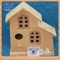 pequena gaiola de pássaro de madeira para venda