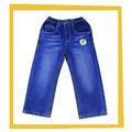 Las niñas 2014 100% de algodón pantalones vaqueros pantalones de mezclilla