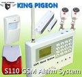 Red GSM panel de alarma de casa con alerta y marcar llamada telefónica