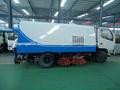 un buen rendimiento de dongfeng 3 toneladas de calle mini camiones de limpieza en libia