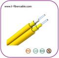 China proveedor 9/125 dúplex de fibra óptica de cable 2.0mm con buen precio