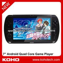 """7 """"quad core android 4.2 jugador del juego"""