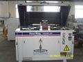 5 eje del chorro de agua de la máquina de corte con el cortador giratorio
