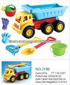 Plastic areia pás, de areia de plástico brinquedo do carro, rodas de plástico para a areia caminhão brinquedos