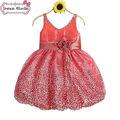 las niñas hinchada vestidos para niñas niños partido vestidos de hadas en el fabricante de china