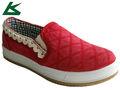Deslizamiento en caliente- en vulcanizado zapatos de lona para las mujeres