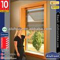 cubierta de la pared de diseño guanghou china fabricante de aluminio compuesto de madera ventanas y puertas